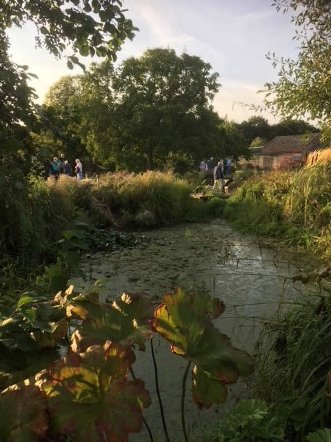 Horticultural Society visit to Depden Care Farm