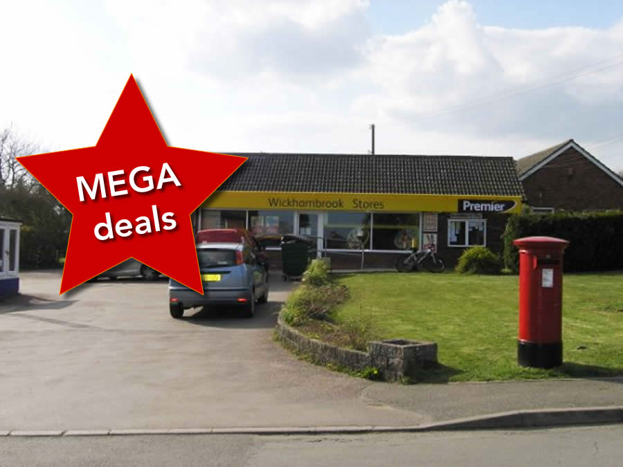 Shop and Post Office deals