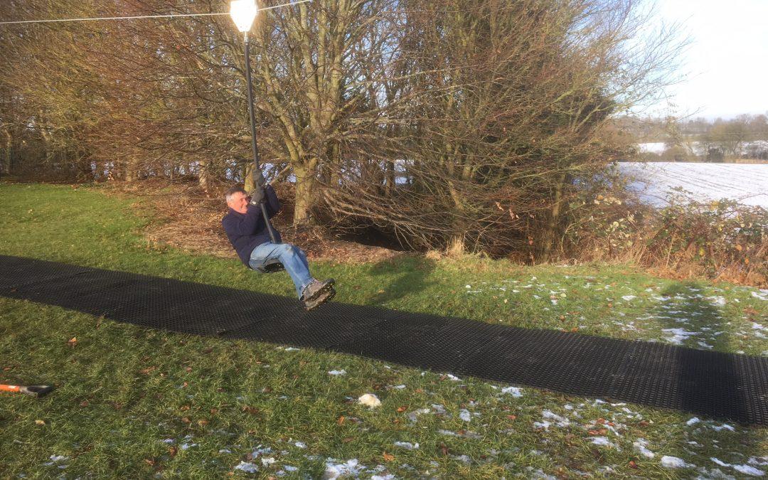 Zipwire – Wickhambrook Play Area Improvements